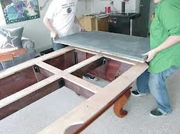 Pool table moves in Findlay Ohio