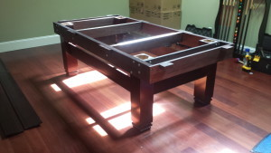 Correctly performing pool table installations, Findlay Ohio